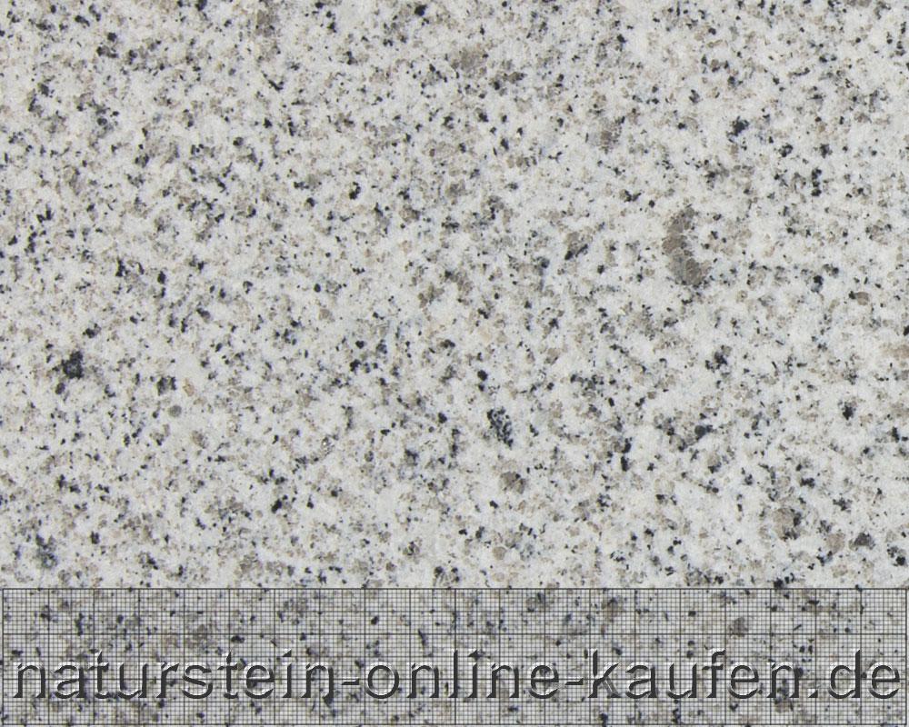 Bianco Cristall ist ein heller, weißgrauer Granit, der in Spanien