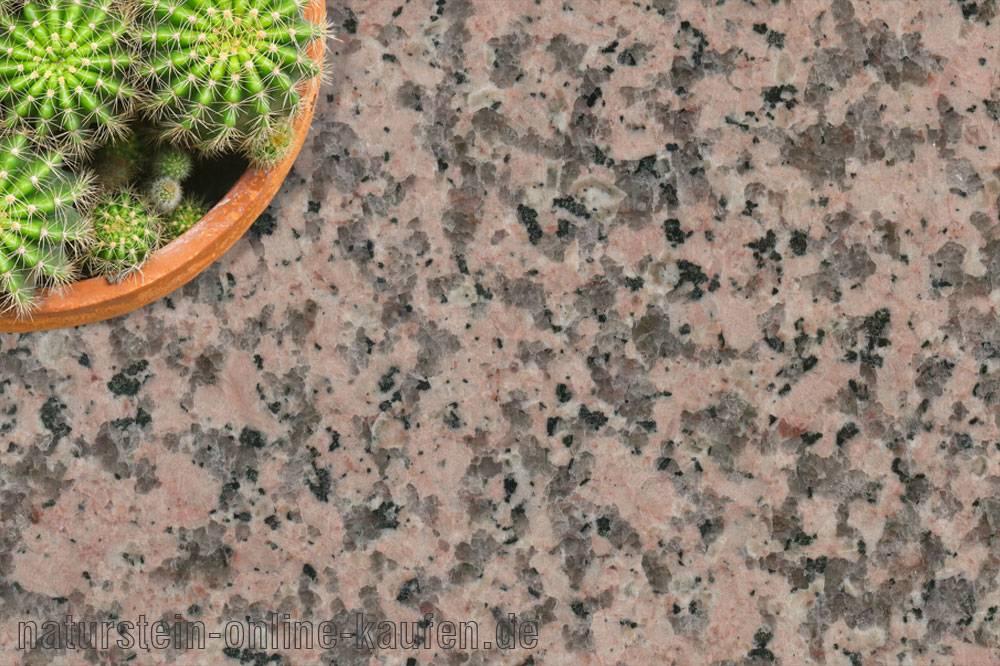 Granit-Fensterbank Rosa Porrinho | naturstein-online-kaufen.de