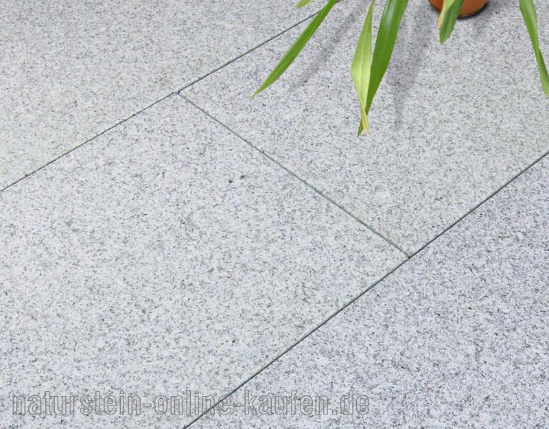 Terrassenplatten Rechner Natursteinonlinekaufende - Betonplatten 40x40x5 grau