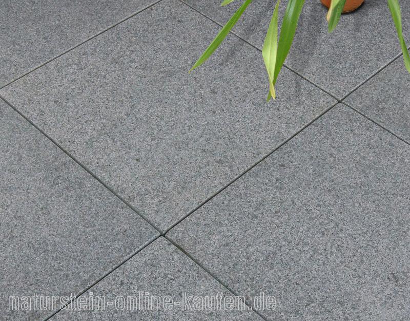 Terrassenplatten Rechner Natursteinonlinekaufende - Gehwegplatten granit 50x50